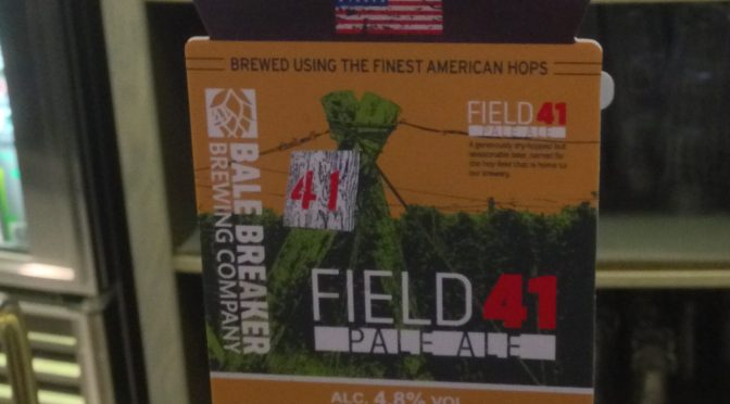 Field 41 Pale Ale - Bale Breaker (Wadworth) Brewery
