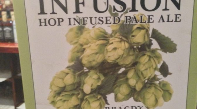 Infusion Hop Infused Pale Ale - Conwy Brewery