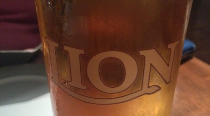 Lion Lager – Lion Brewery