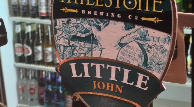 Little John - Milestone Brewery