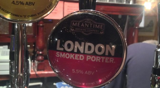 London Smoked Porter - Meantime Brewery