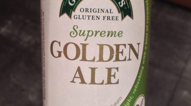 Golden Ale – Green's Brewery