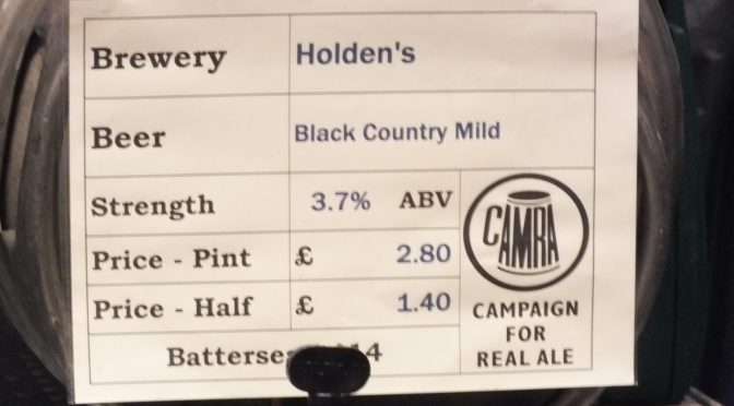 Black Country Mild - Holden's Brewery
