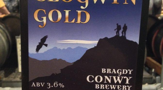 Clogwyn Gold - Conwy Brewery