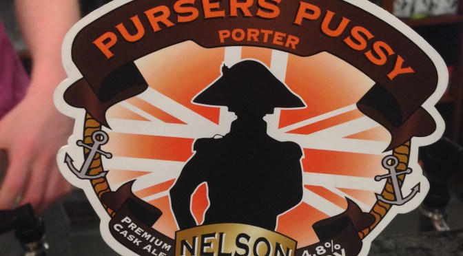 Pursers Pussy Porter – Nelson Brewery