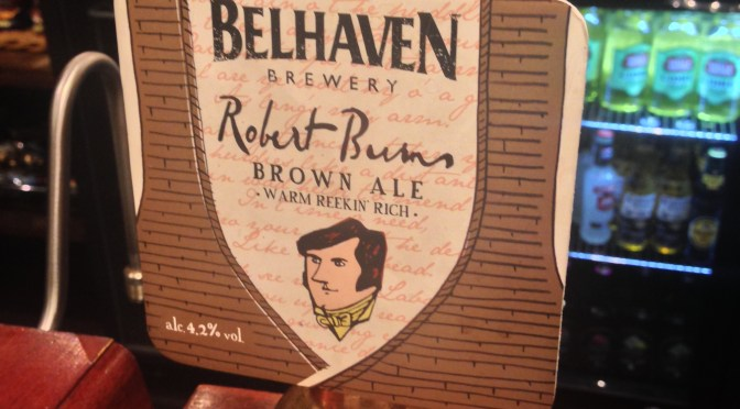 Robert Burns Ale – Belhaven Brewery