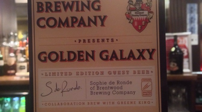 Golden Galaxy – Brentwood Brewing Company