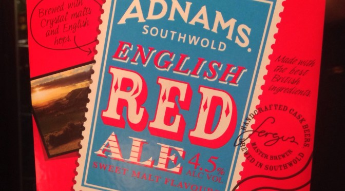 English Red Ale – Adnams Brewery