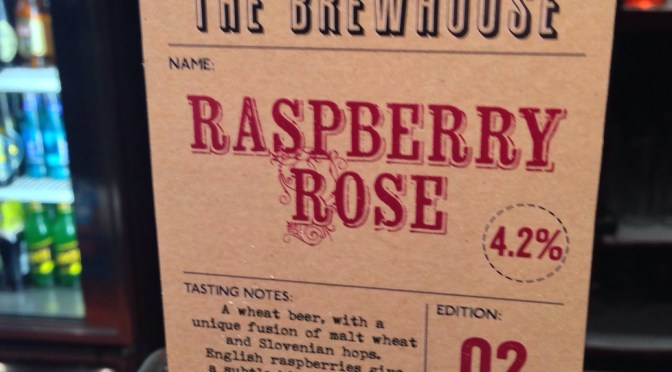 Raspberry Rose – The Brewhouse Brewery