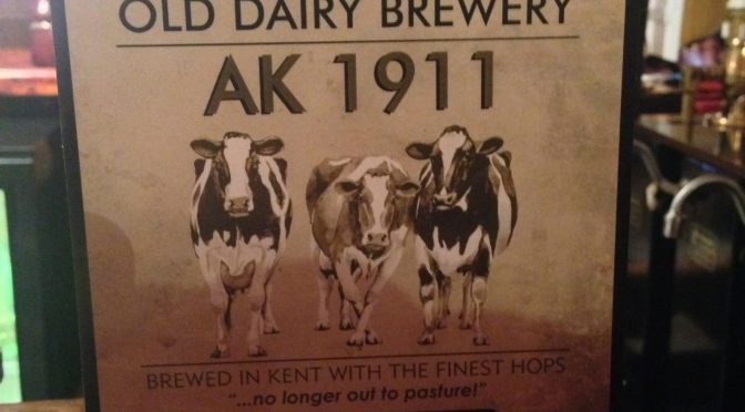 AK 1911 – Old Dairy Brewery