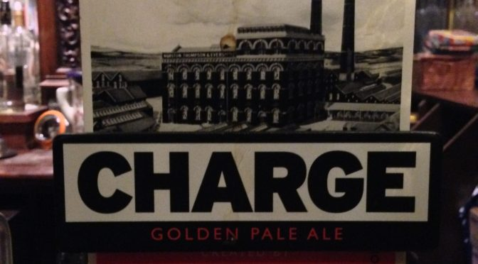 Charge Golden Pale Ale – Elbow (Marston's) Brewery