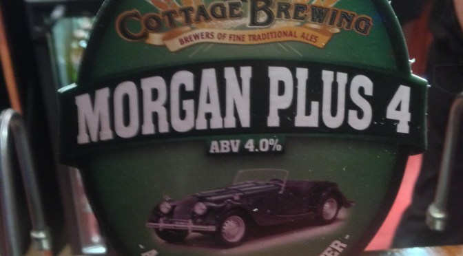 Morgan Plus 4 - Cottage Brewery