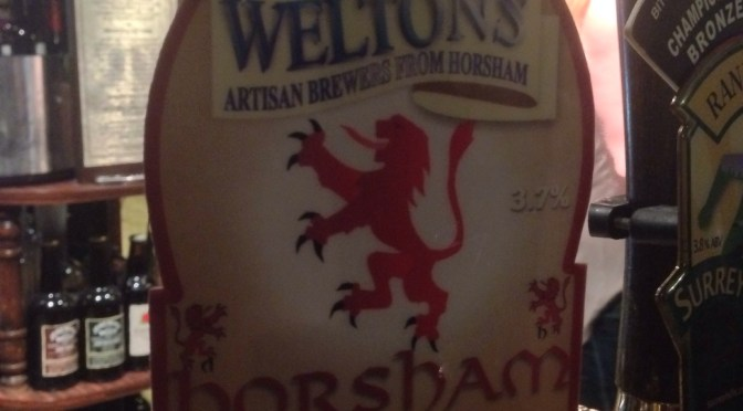 Horsham Pale – Weltons Brewery
