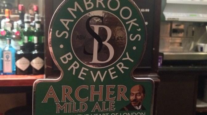 Archer Mild Ale – Sambrook's Brewery