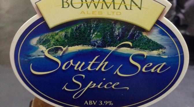 South Sea Spice – Bowman Ales
