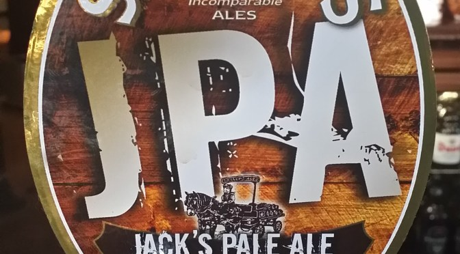 Jack's Pale Ale (JPA) – Sadler's Ales