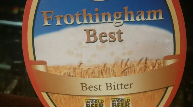 Frothingham Best Bitter – Great Newsome Brewery