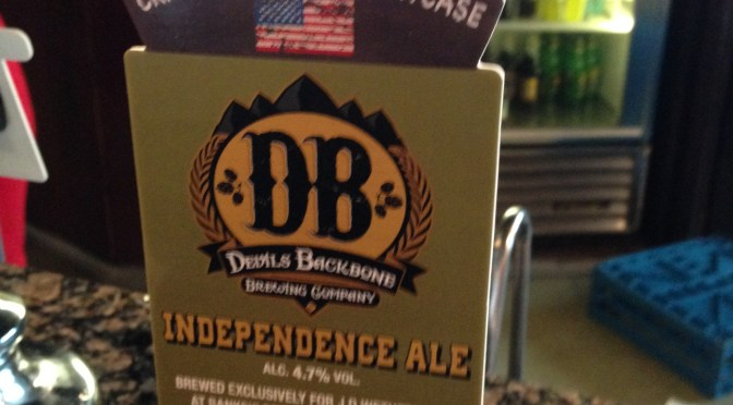 Independence Ale – Banks's (Devil Backbone) Brewery