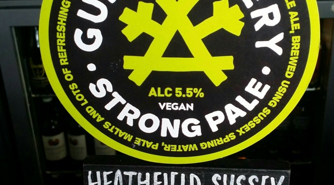 Double Five Strong Pale – Gun Brewery