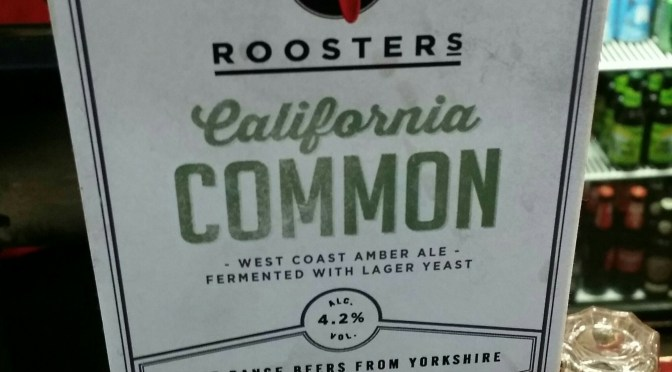 California Common – Roosters Brewery