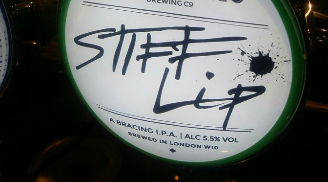 Stiff Lip – Portobello Brewing Co.