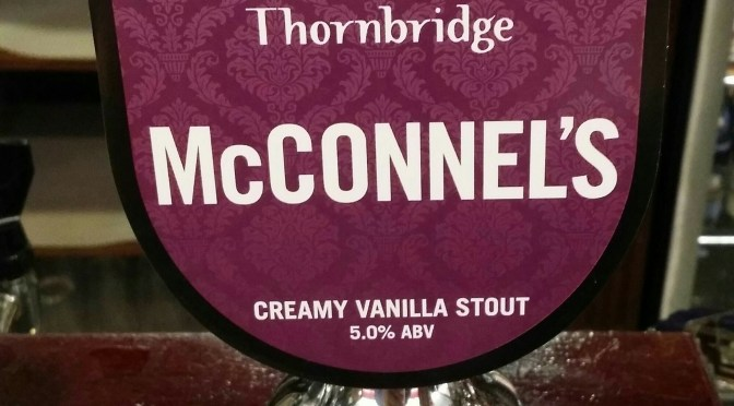 McConnel's – Thornbridge Brewery