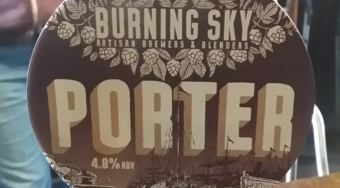 Porter – Burning Sky Brewery
