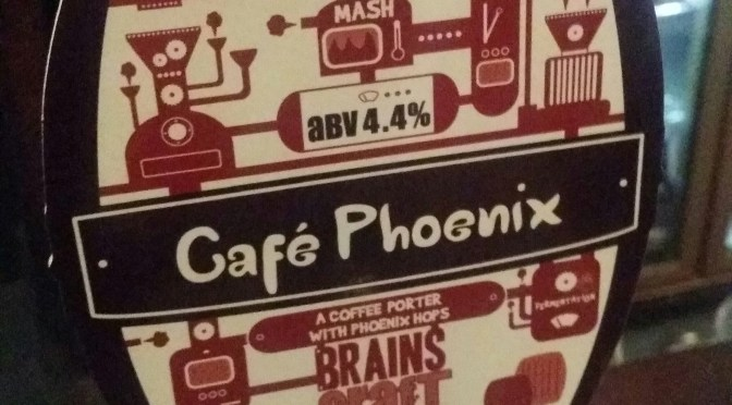 Café Phoenix – Brains Craft Brewery