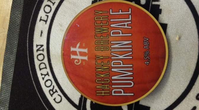Pumpkin Ale – Hackney Brewery