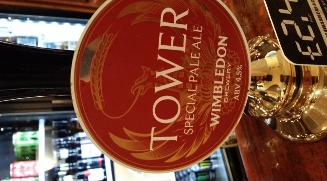 Tower Special Pale Ale – Wimbledon Brewery