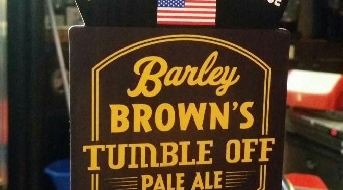 Tumble Off Pale Ale – Barley Brown's Beer