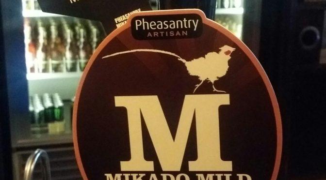 Mikado Mild – Pheasantry Artisan Brewery