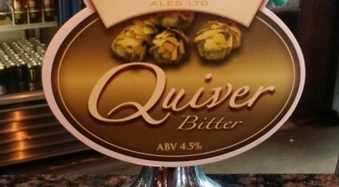 Quiver Bitter – Bowman Ales