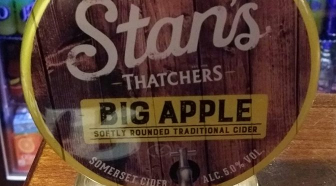 Stan's Big Apple – Thatcher's Brewery