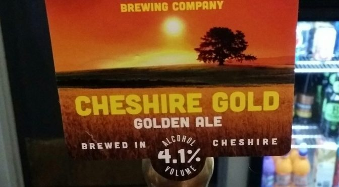 Cheshire Gold – Coach House Brewing Company