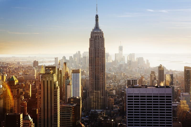 Le plus beau paysage du monde -New York Empire State Building et The Big Apple