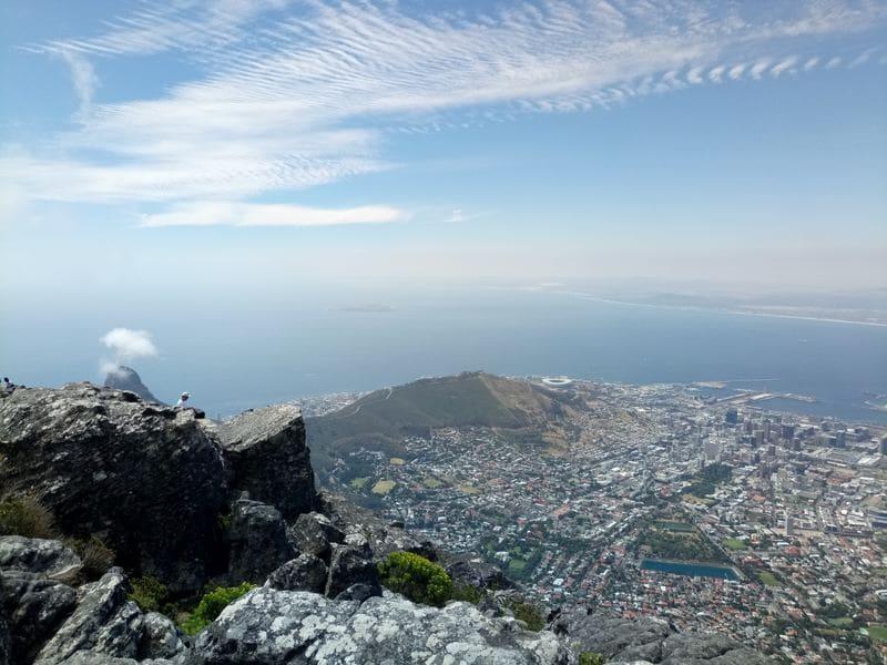 Le plus beau paysage du monde - le Cap sommet Table Mountain