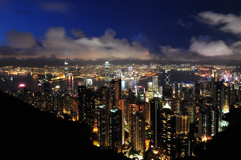 Le plus beau paysage du monde - Victoria Peak à Hong Kong !