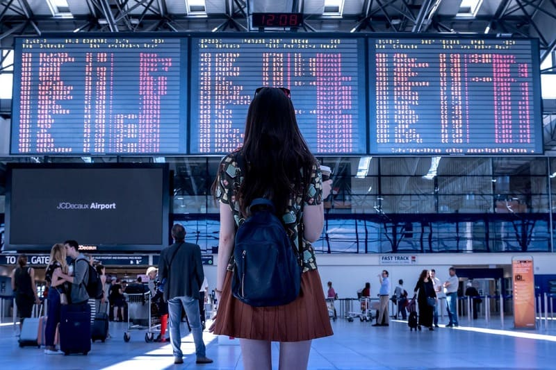 vol sec pas cher - aéroport tableau vols