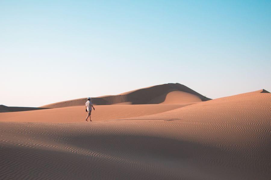 Page découvre ton blogueur voyage - destination de rêve désert