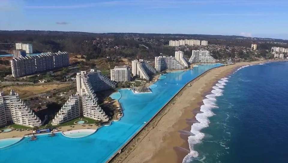 Plus grand piscine du monde - Chili