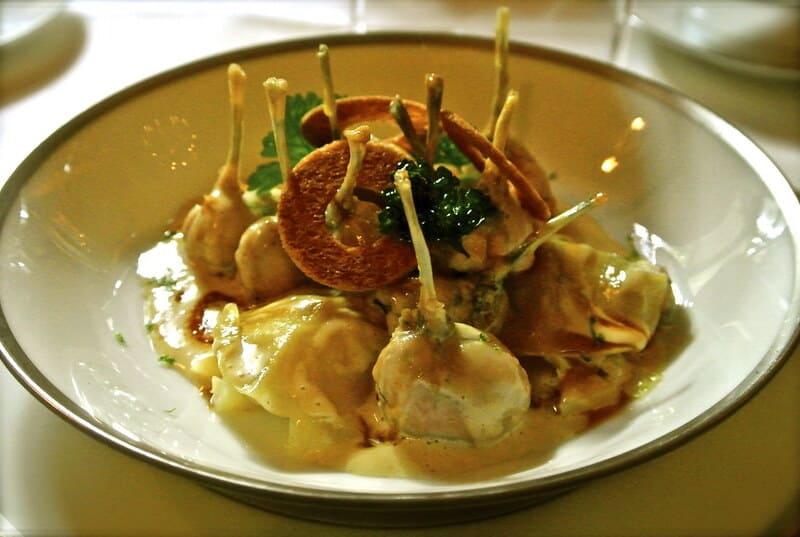 gastronomie française - cuisses de grenouilles