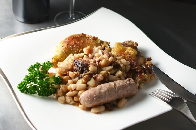 meilleure cuisine du monde - plat français cassoulet