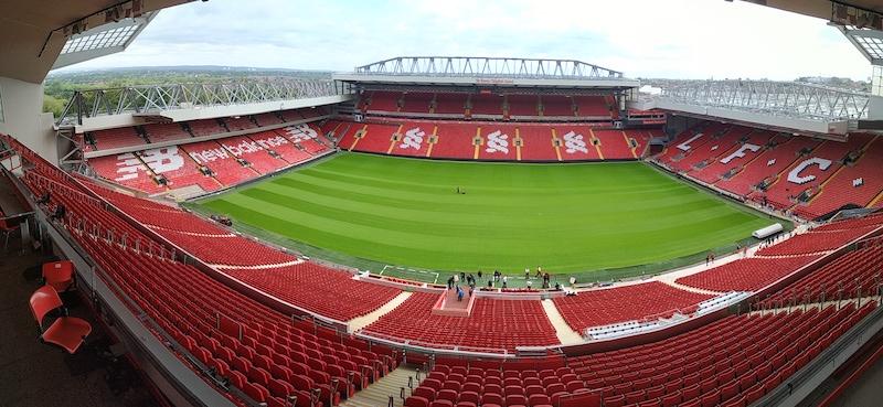 les stades de football les plus mythiques - Anfield à Liverpool