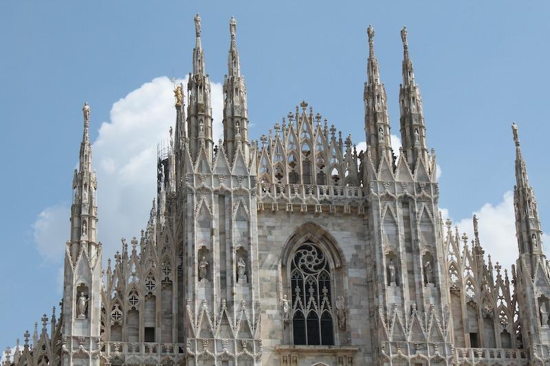 le plus grand stade du monde - milan et le Duomo di Milano