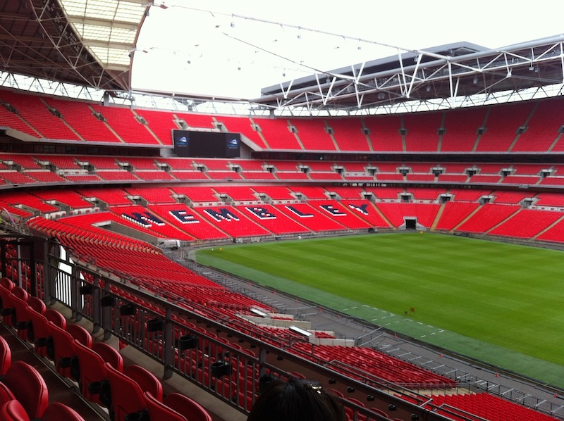 le plus grand stade du monde - Wembley