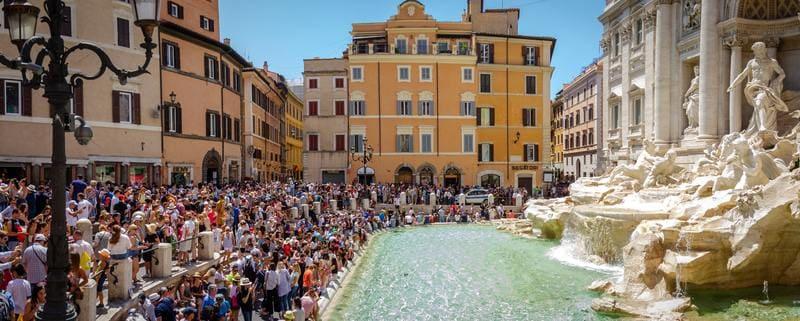 ponts du mois de mai - partir à Rome fontaine de Trevi