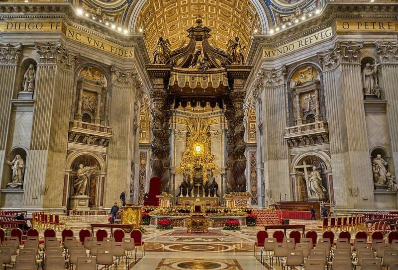 où partir au mois de mai - Rome Basilique Saint-Pierre