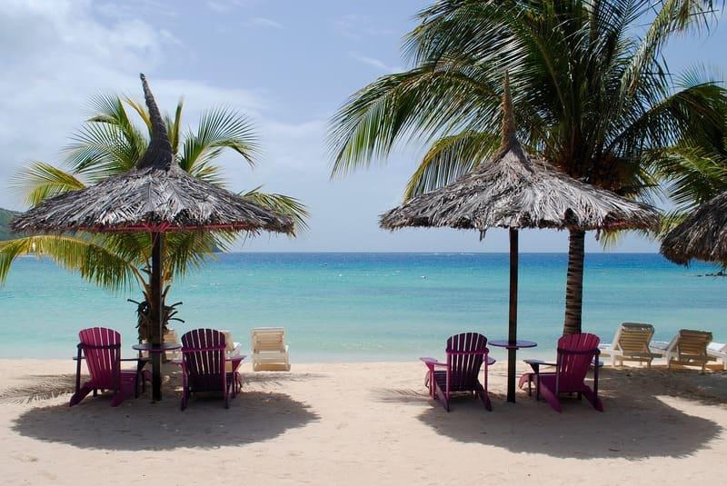 ou aller en vacances - plage des caraïbes