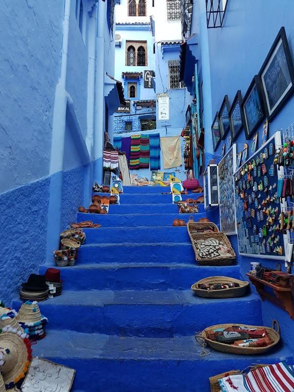ou aller en vacances - le Maroc chefchaouen
